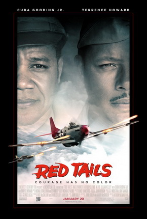 Red Tails Theatrical Release Poster