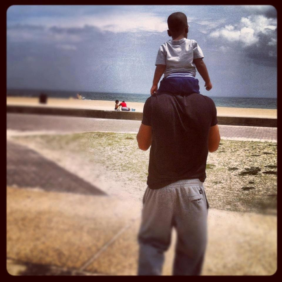 Victor and son