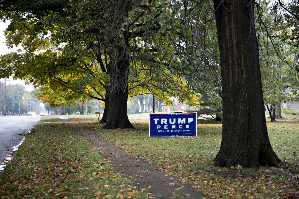 Campaign Signs by Getty Images